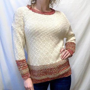 Easel Knit Crewneck Sweater